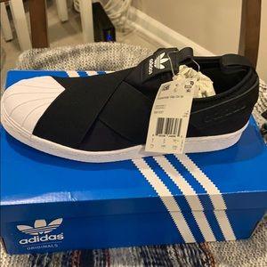 Adidas Superstar Slip On 7 1/2 W